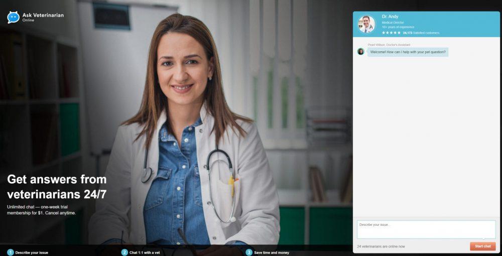 ask a veterinarian vet online