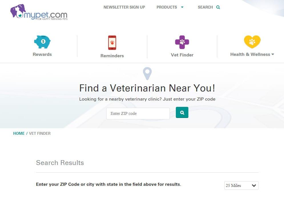 find a vet near you